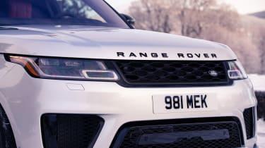 Range Rover Sport Ingenium grille