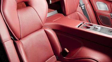 2013 Aston Martin Rapide S rear seats