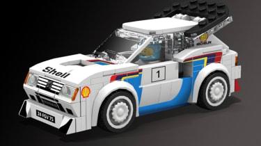 LEGO Peugeot 205 T16 - studio