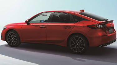 2022 Honda Civic Type R prototype – rear quarter