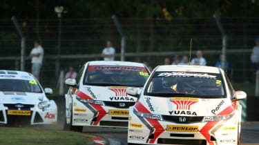 Honda Civic Gordon Shedden Matt Neal