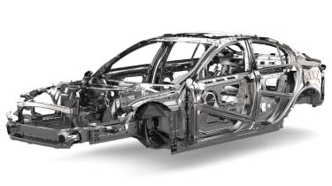 Jaguar XE at geneva 2014