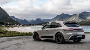 Porsche Macan GTS 2021 – rear quarter static