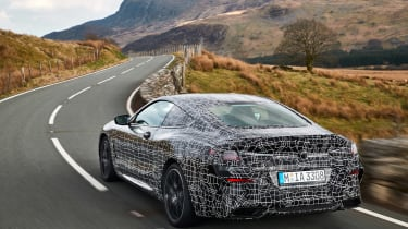 BMW 8-series prototype review - front