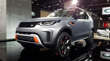 Land Rover - Frankfurt Motor Show