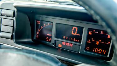 Audi Quattro dial pack