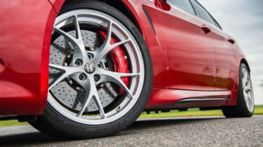 Alfa Romeo Giulia Quadrifoglio - Wheels