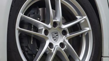 Porsche Panamera Diesel alloy wheel