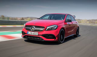 Mercedes-AMG A45 - Front
