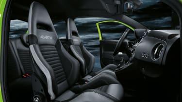 Abarth 595 MY19 update - seats