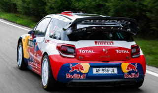 Citroen DS3 WRC racing car