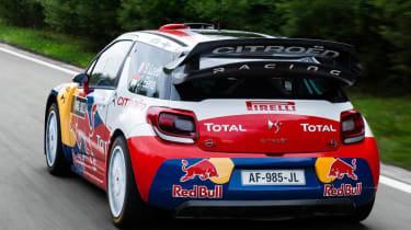 Citroen DS3 WRC racing car