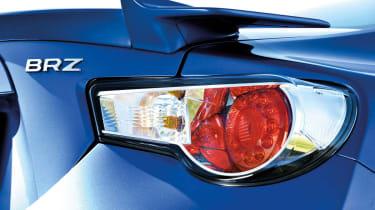 Subaru BRZ group test rear light
