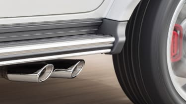 Mercedes-AMG G63 – exhausts