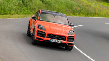 Porsche Cayenne Turbo Coupe - nose
