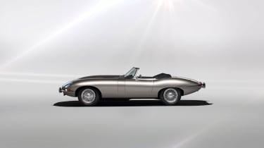 Jaguar Classic E-type Zero production - Side