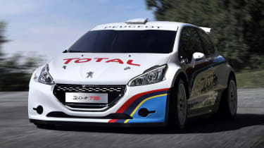 Peugeot 208 T16 at Pikes Peak 2013 front view