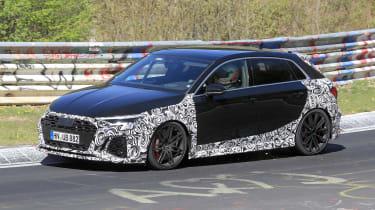 Audi RS3 mule 2020 – side1