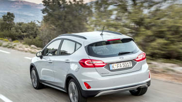 Ford Fiesta Active – rear