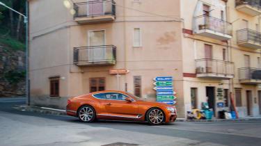 Bentley Continental GT - side