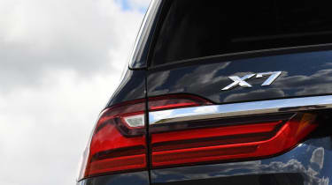 BMW X7 review - badge