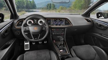 SEAT Leon Cupra R – interior