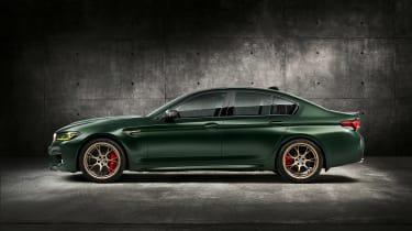 BMW M5 CS - studio side