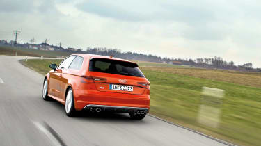 Audi S3 rear angle