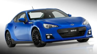 Subaru BRZ S STI body kit