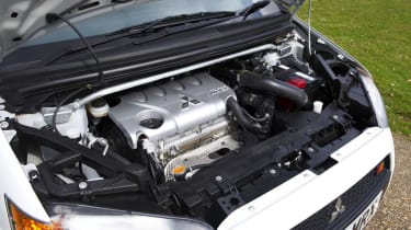 Mitsubishi Colt Ralliart engine