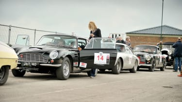 Aston DB5 on the Tour Britannia