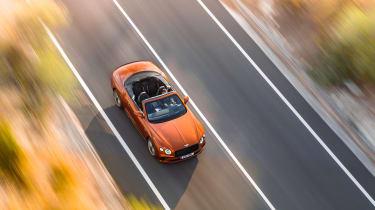 Bentley Continental GT Speed – top