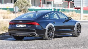 Audi RS7 spy - rear quarter