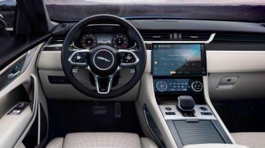 Jaguar F-Pace SVR 2021 dash