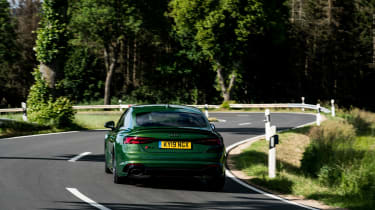 Audi RS5 Sportback review - rear