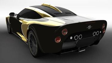 Spyker Aileron SE - rear