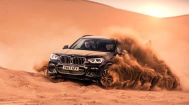 BMW X3 30d M Sport - desert storm