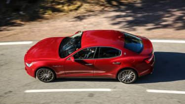 Maserati Ghibli 2016 - red driving 1