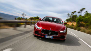 Maserati Ghibli 2016 -  red front 2