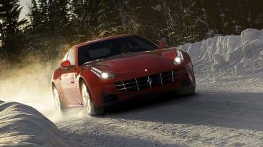 Four-wheel-drive Ferrari FF supercar