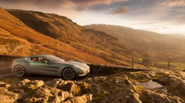 Aston Martin One-77 - front quarter Wales
