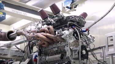 GMA T.50 - engine testing