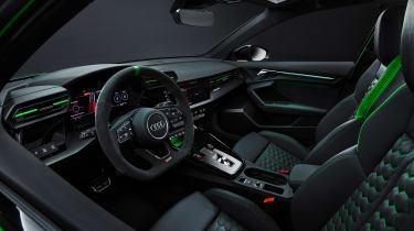 2021 Audi RS3 Saloon –cabin