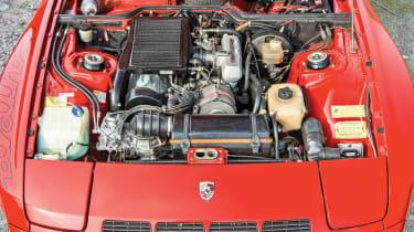 Porsche 924 Carrera GT – engine