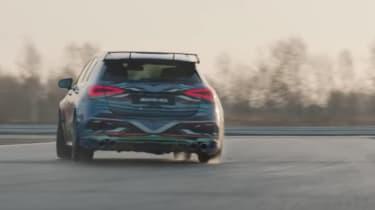 Mercedes-AMG a45 spy shots video