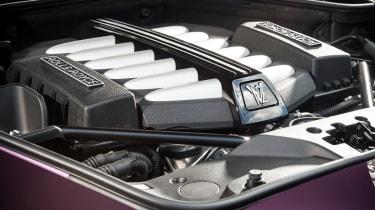 Rolls-Royce Wraith twin-turbo V12 engine