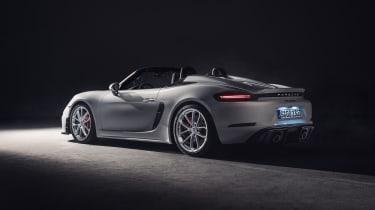 Porsche 718 Spyder rear