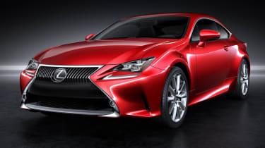 Tokyo motor show 2013: Lexus RC coupe