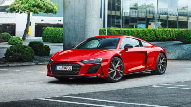 Audi R8 V10 Performance RWD – coupe front static