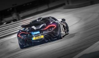 McLaren P1's exhaust
